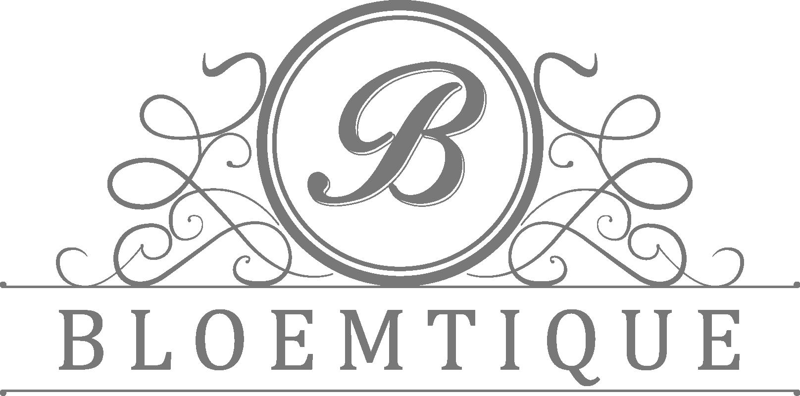 Logo Bloemtique Bloemen Footer